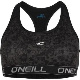 O'Neill Active Sport Bra Women grey aop w/black